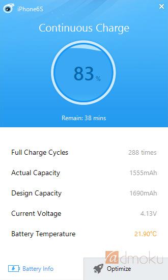 iPhone6sのバッテリー状況が一目瞭然のガジェット