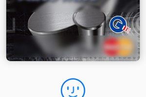 Apple Pay画面上に「リーダーにかざしてください」が表示